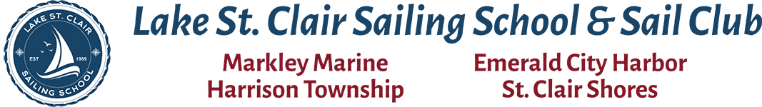 Lake St Clair Sailing School Logo
